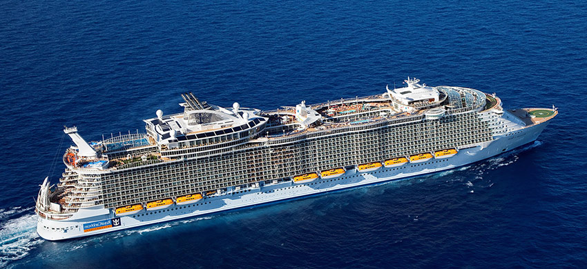 Ovation, Voyager, Explorer & Radiance of the Seas <br>2017-2018 Release